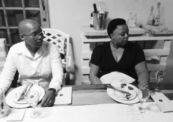 A Million Ones dinner, hosted by Patrick Abrahams