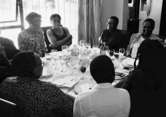 A Million Ones lunch hosted by Siphokazi Nombande